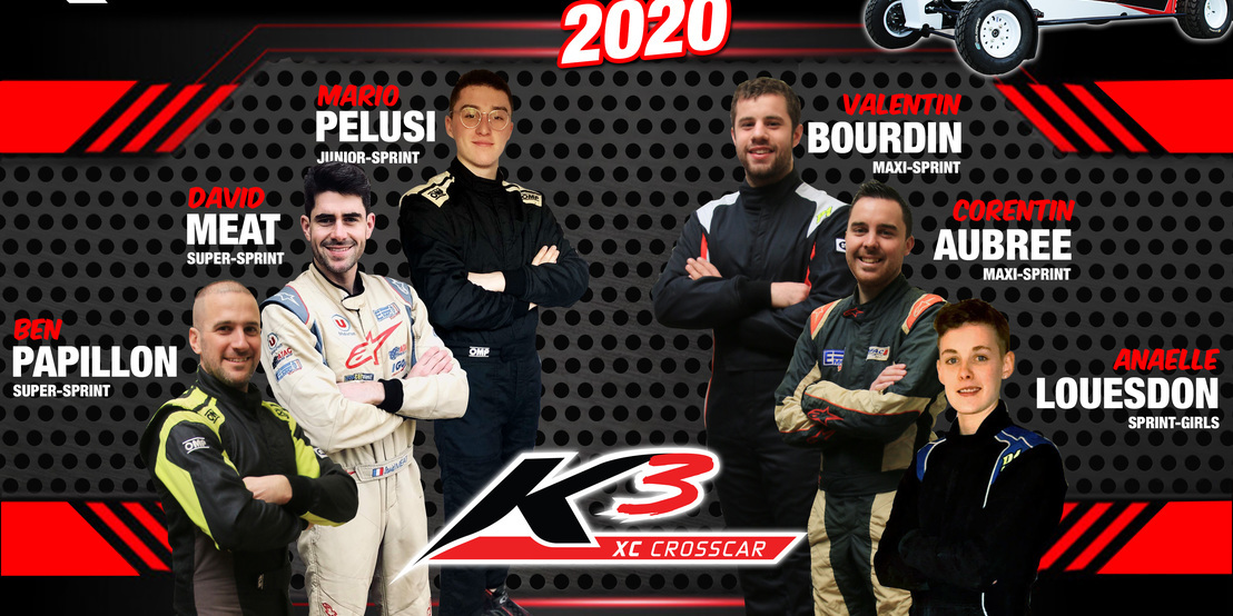 Pilotes officiels 2020